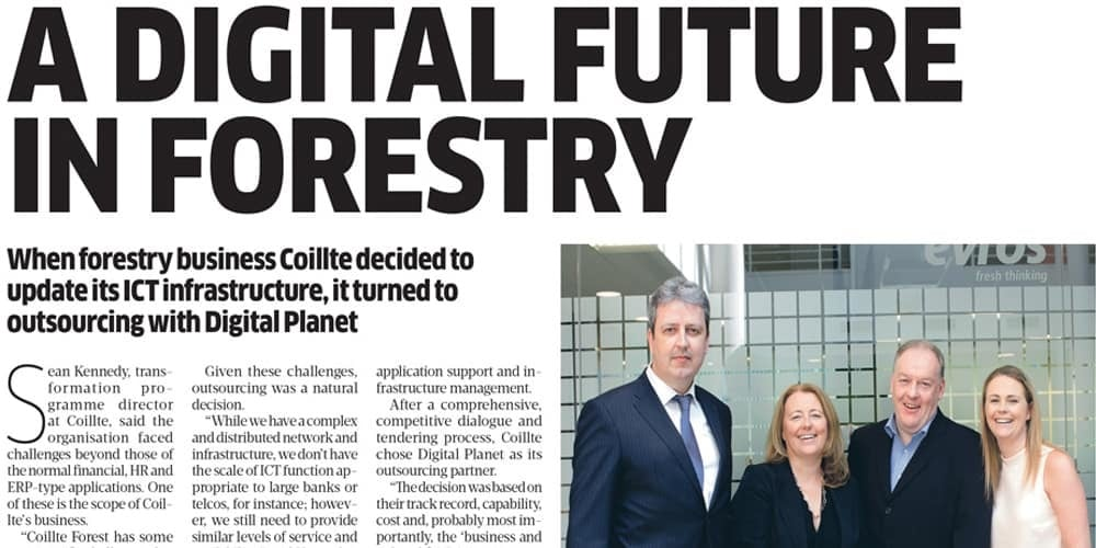 Digital Future in Forestry