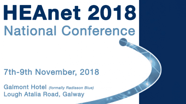 HEAnet National Conference 2018 with Evros